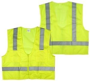 oz Radnor 64055947 3X Yellow Polyester//Tricot Surveyor Vest 15.34 fl English 1 x 1 x 1 Plastic